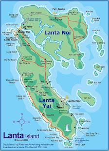 Map Of Lanta