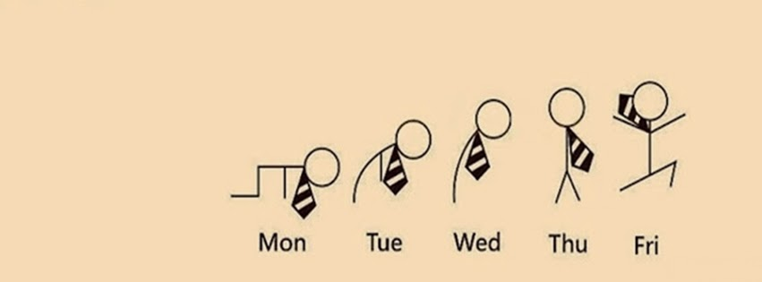 Work Schedule funny Facebook cover