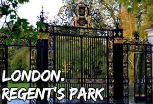 london regent's park