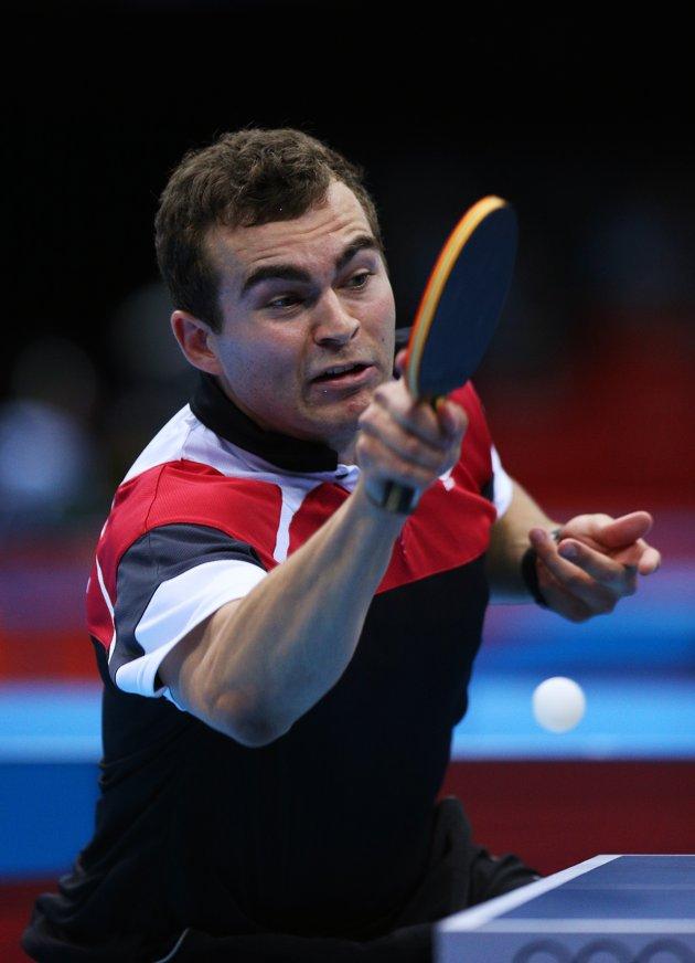 Wajah-wajah Lucu Pemain Tenis Meja Olimpiade 2012