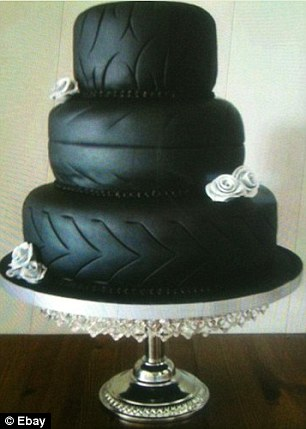 foster tire tire wedding cake. Black Bedroom Furniture Sets. Home Design Ideas