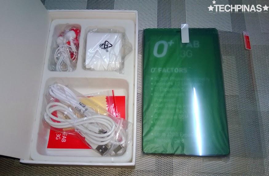 O+ Fab 3G, O+ Android Phablet