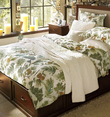 Winter Season Bed Spread