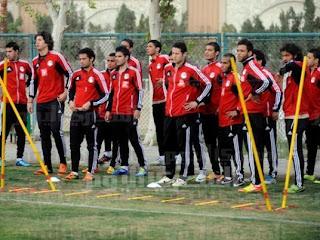 تسعة لاعبين محترفين لخوض مباراة مصر وغينيا في تصفيات كأس العالم 2014