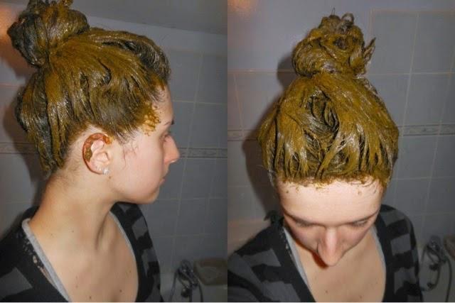 صبغة طبيعية مجربة للحصول على شعر بني