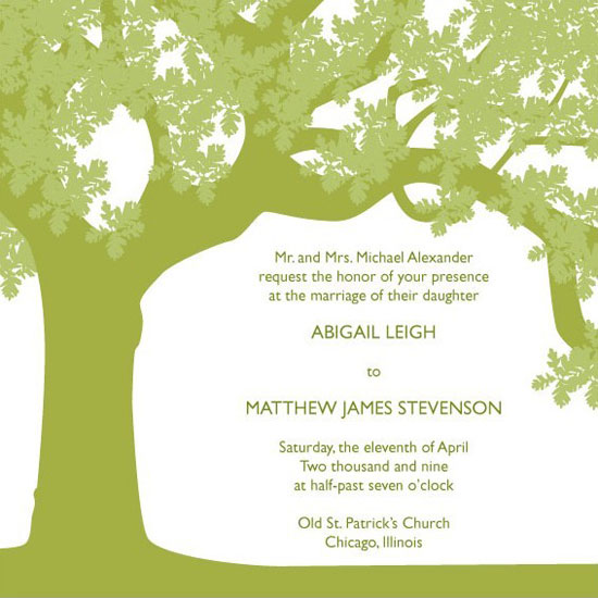 Laser Cut Tree Wedding Invitations is one of our best ideas you might choose for invitation design