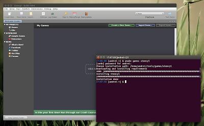 Ubuntu Make Stencyl