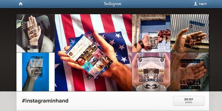 Tidak Hanya Foto #InstagramInHand, tetapi Facebook Juga Ada