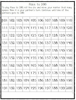 Printable number chart 101 200 bing images