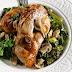 Συνταγή της ημέρας - Ψητό με μυρωδάτα χόρτα και μανιτάρια