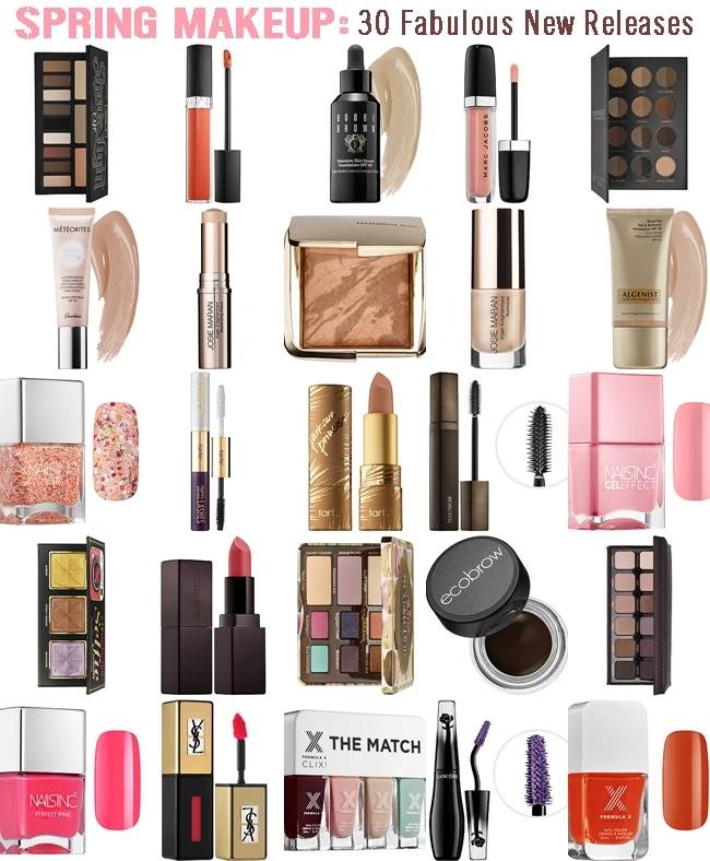 SPRING 2015 MAKEUP: 30 Fabulous New Releases.Prolece 2015, sminka, novo na trzistu.New from Sephora.