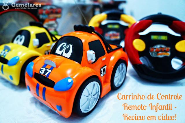 Carrinho de Controle Remoto Infantil - Review