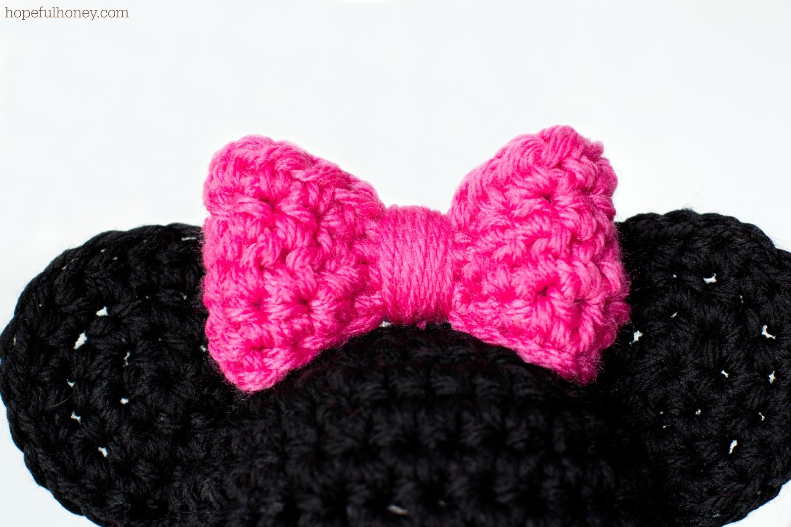 Crochet Patterns For Minnie Mouse : Hopeful Honey Craft, Crochet, Create: Newborn Minnie ...
