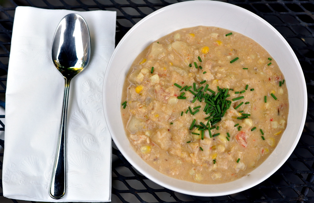 Horsing Around: Clam and Corn Chowder | Langdon Cook
