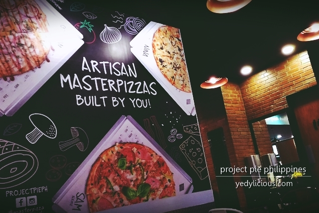 Project Pie Philippines Build-Your-Own-Pizza Eats A Date Valentines 2016 Blog Review Menu Price Branches Contact No Website Facebook Twitter Instagram Promo Artisanal Pizza YedyLicious Manila Food Blog