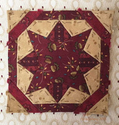 Dear Jane Quilt - Block G12 Gloriae
