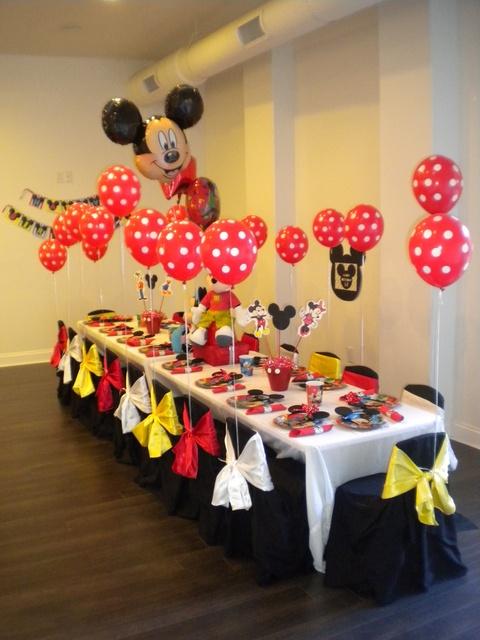 Mickey Mouse Decoracin De Fiestas Infantiles
