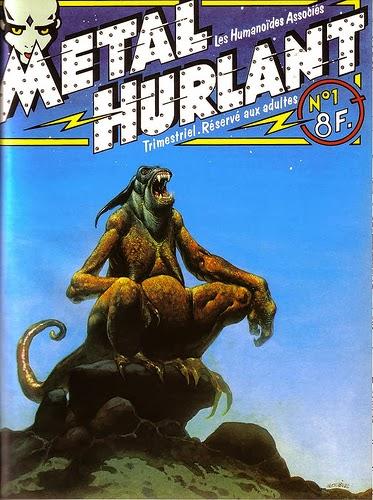 Metal Hurlant Magazine