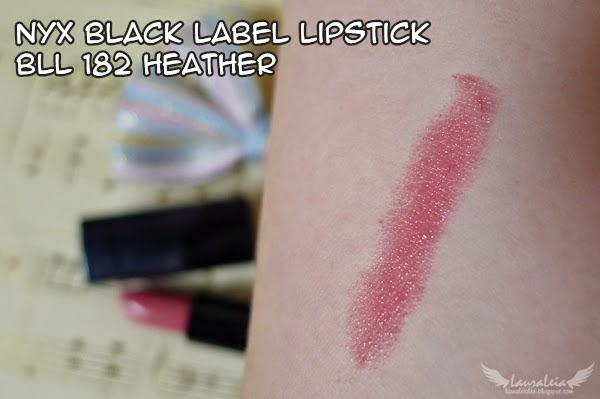 "NYX Black Label Lipstick in ""Heather"" (BLL 182)"