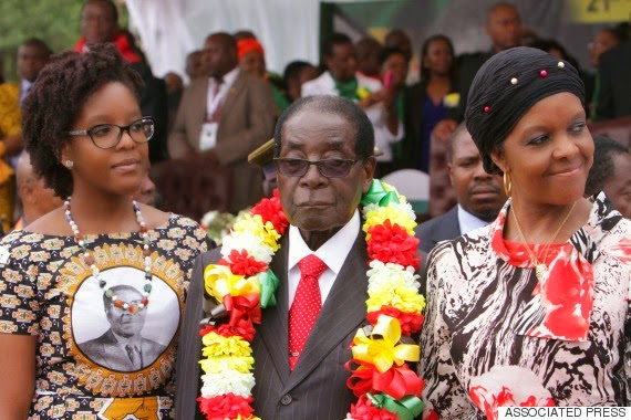 Robert Mugabe's 91st birthday bash (photos)