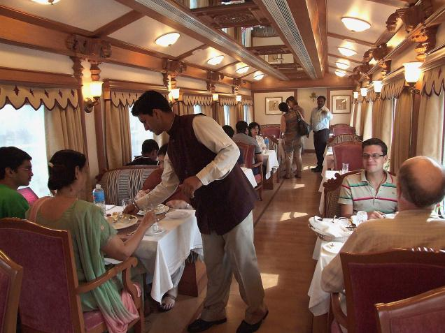 Restaurant,Golden chariot train