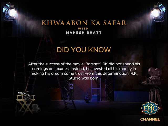'Khwaabon Ka Safar with Mahesh Bhatt' Epic Tv Upcoming Show Wiki Plot |Timing |Promo |Host |Pics