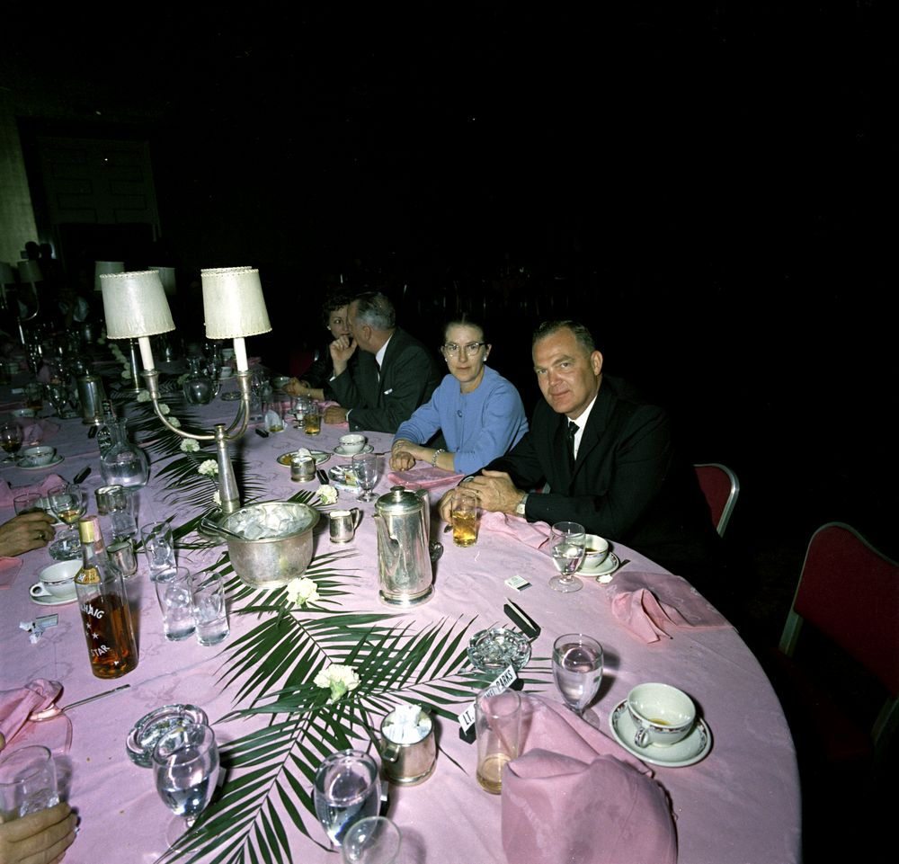 ASAIC Floyd Boring at the 1/8/63 WHCA dinner