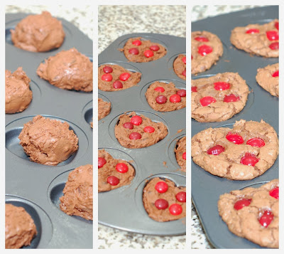 Cherry Cordial Brownie Cookies ©thesweetchick