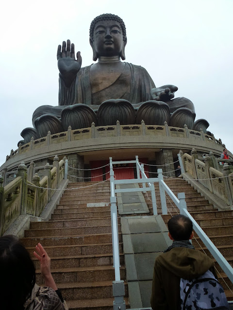 Tian Tan, known as The Big Buddha of Hong Kong