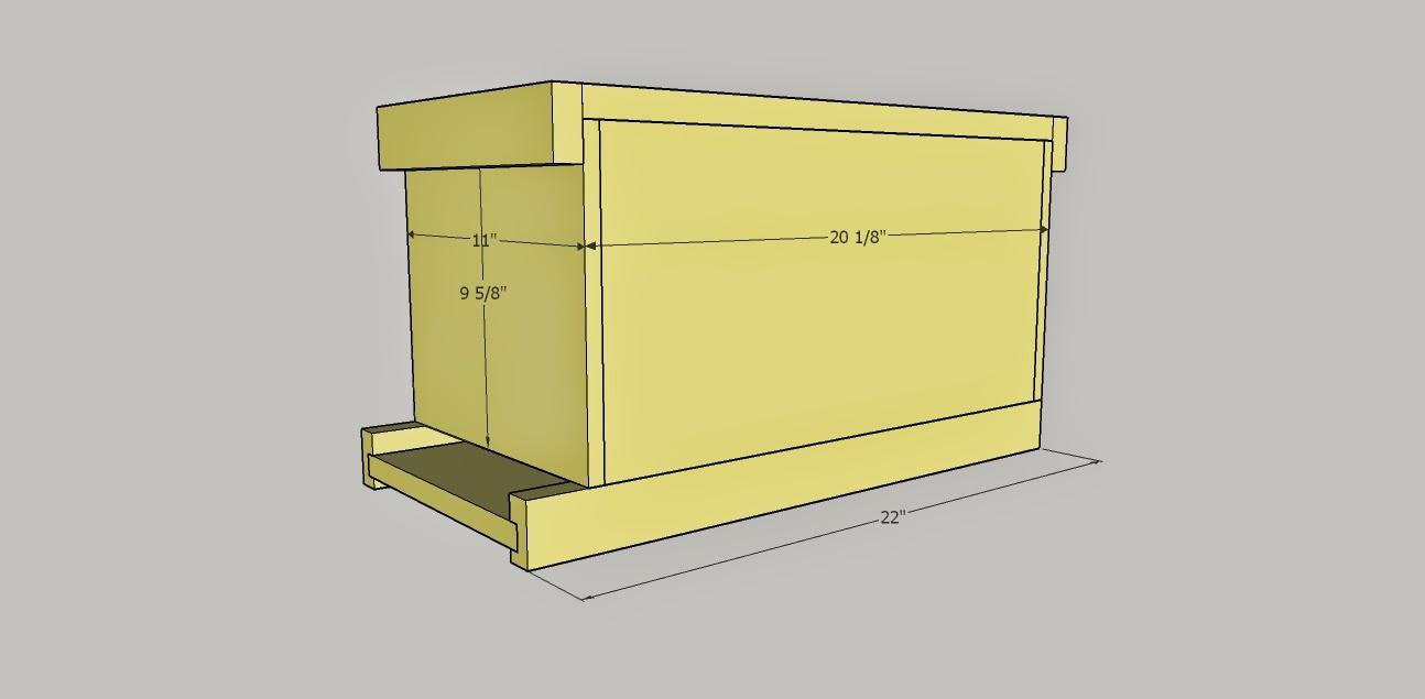 Honeydrunk Apiares Build Your Own 6 Frame Nuc