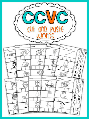 CCVC Packet with 3 Hands-on activities aligned to the Common Core!