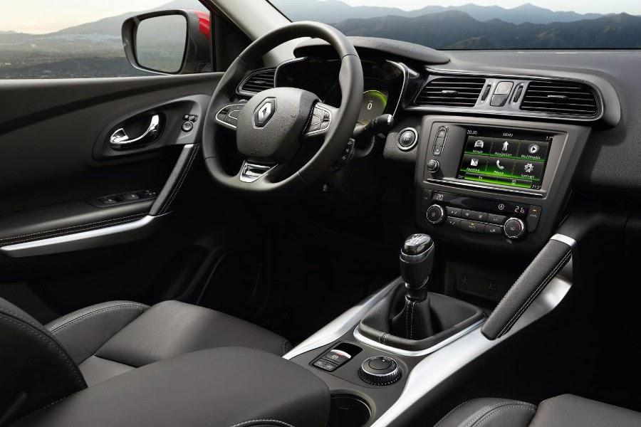 Renault Kadjar (2016) Dashboard