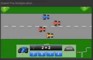 Xogos Interactivos das Táboas de Multiplicar