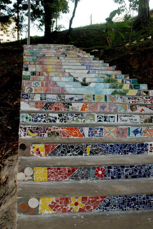 Escadaria de Santana ZN- Sesc Santana