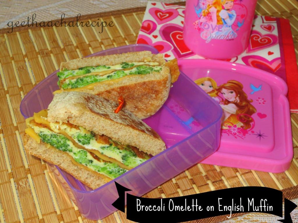 Brocolli Omelette
