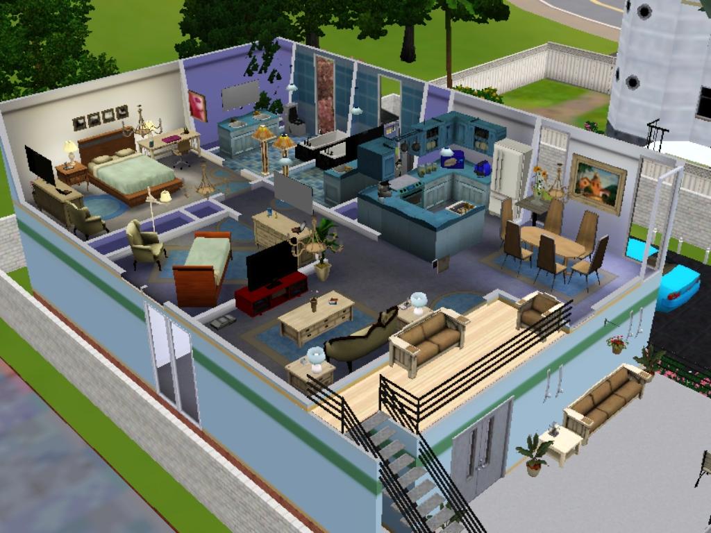 Ini Screenshot Dari Deket Tanpa Wall Di Keseluruhan Lantai 2. image number 94 of desain rumah bagus untuk the sims ... & Desain Rumah Bagus Untuk The Sims \u0026 Desain Rumah Mewah The Sims 3 ...