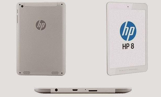 الكشف عن تابلت جديد من Hp بسعر اقتصادي Hp8