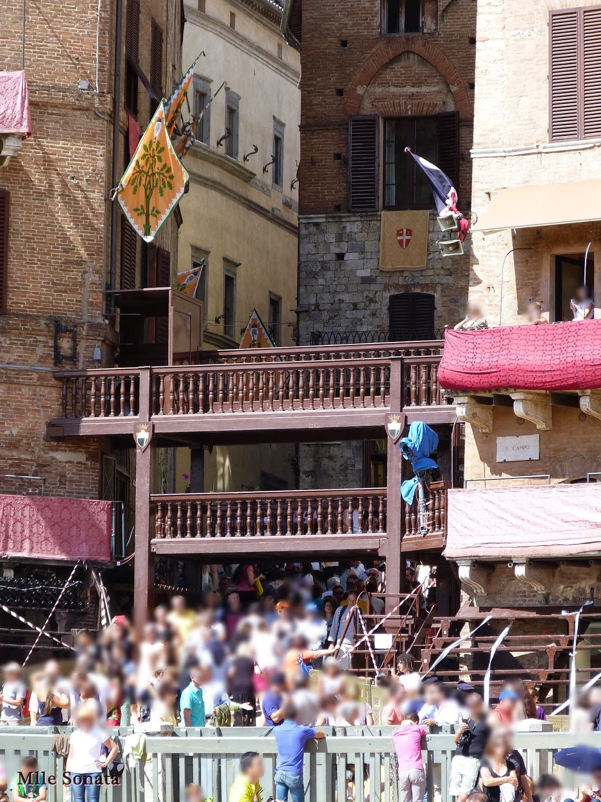 Voyage Italie Sienne Piazza del Campo