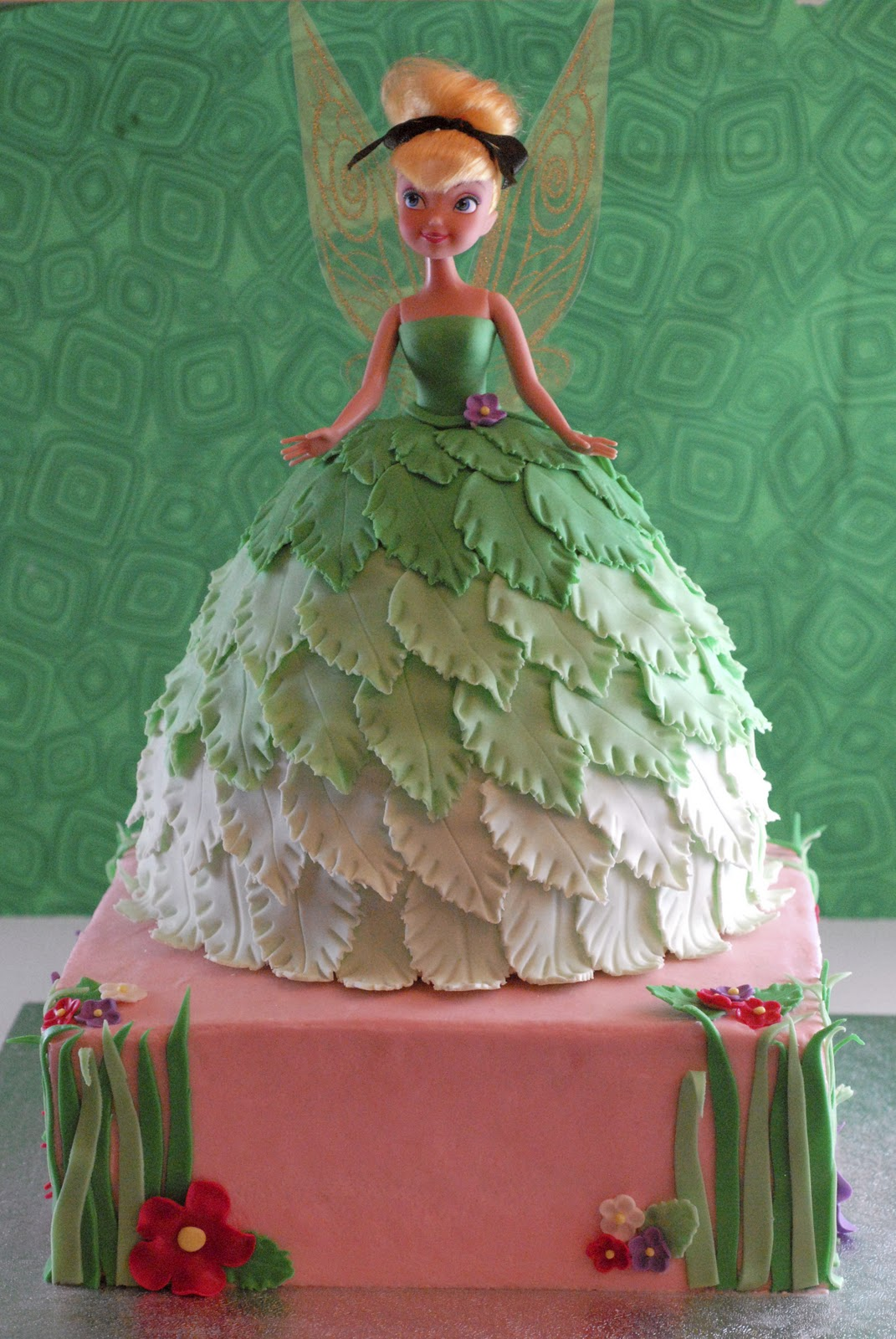 Tinkerbell doll cake recipe