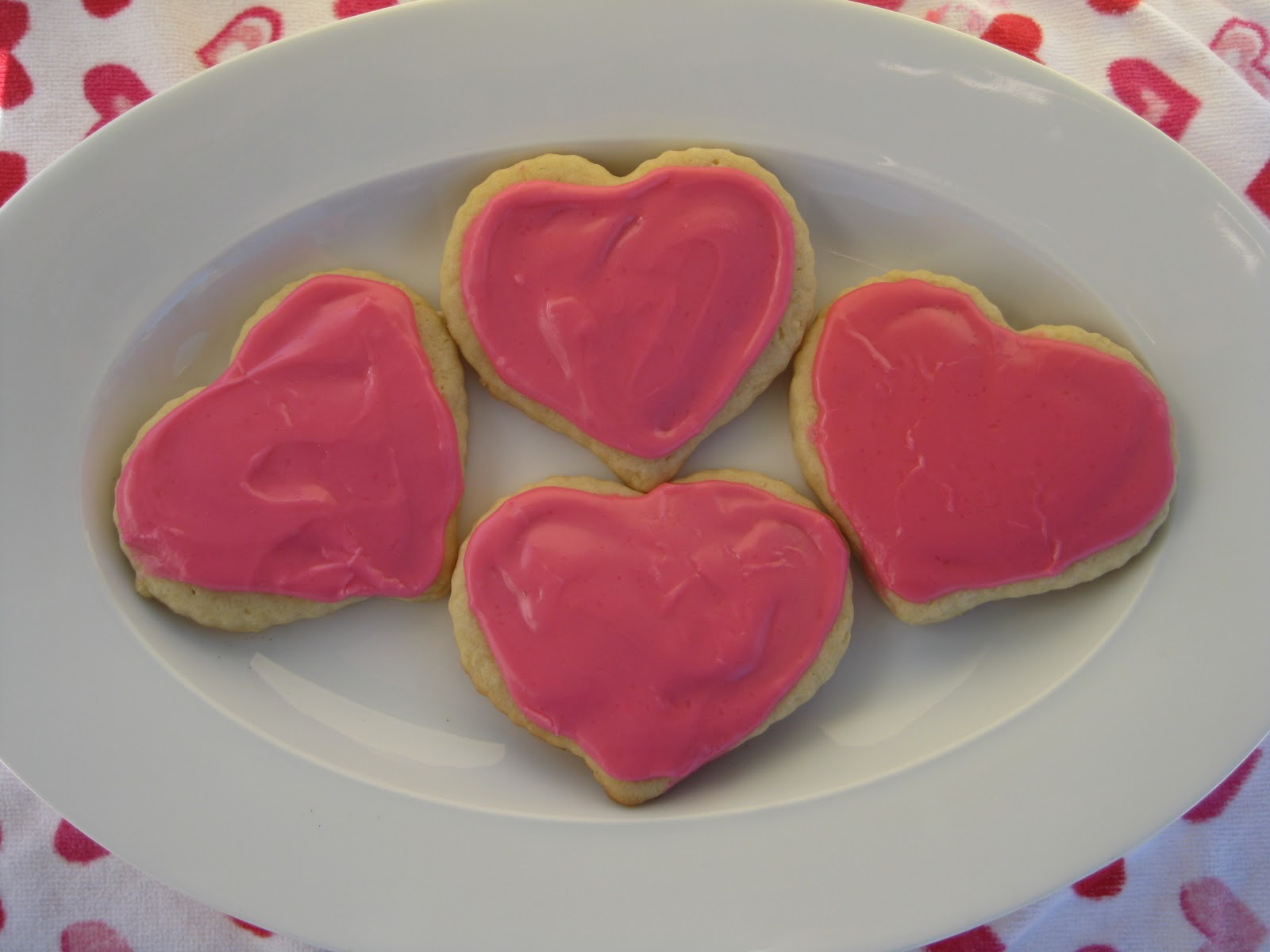 Heidi's Recipes: Valentine's Sugar Cookies Recipe