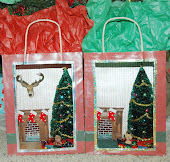 Mini Christmas Gift Bag Scene