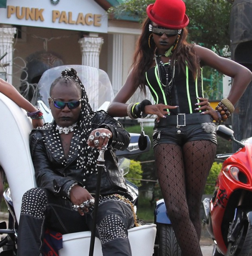 Photo: Charly Boy & his Angels