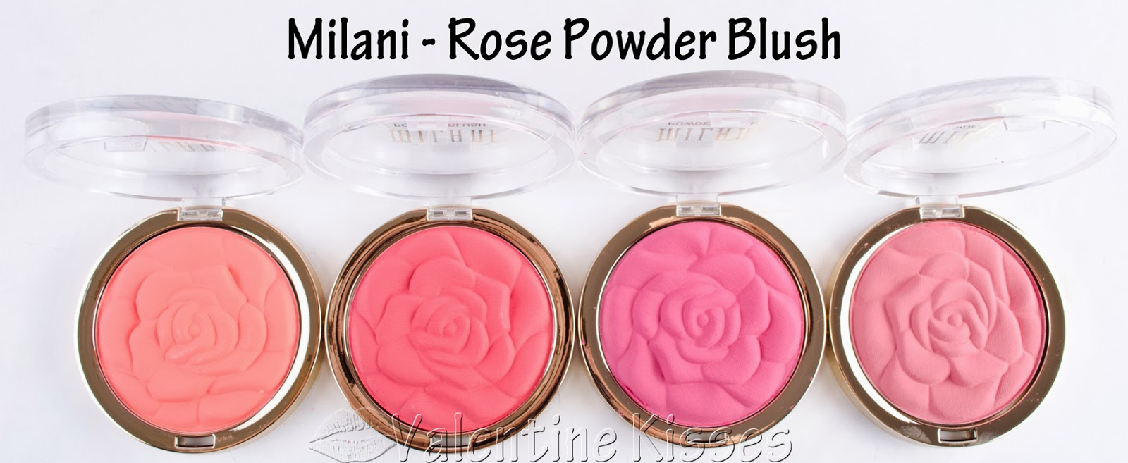 Valentine Kisses Milani Rose Powder Blush 4 New Limited Edition Moodmatcher Liquid Matte Just Shades Pics Swatches Review