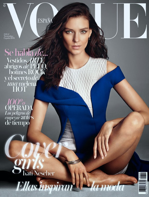Vogue Spain November 2014 cover