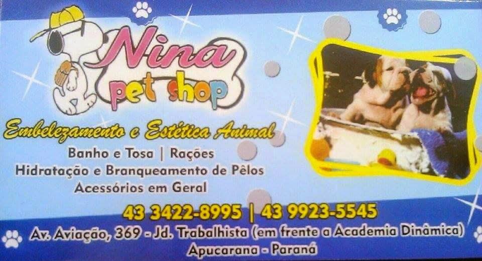 Nina PetShop