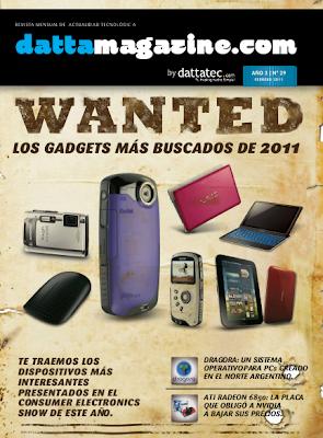 Imagen de la revista Dattamagazine de febrero 2011