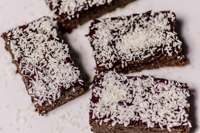 Schoko Kokos Brownie Rezept
