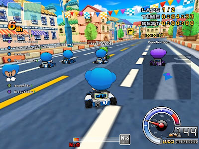 Download Kart Rider Gemscool Full Client dan Patch