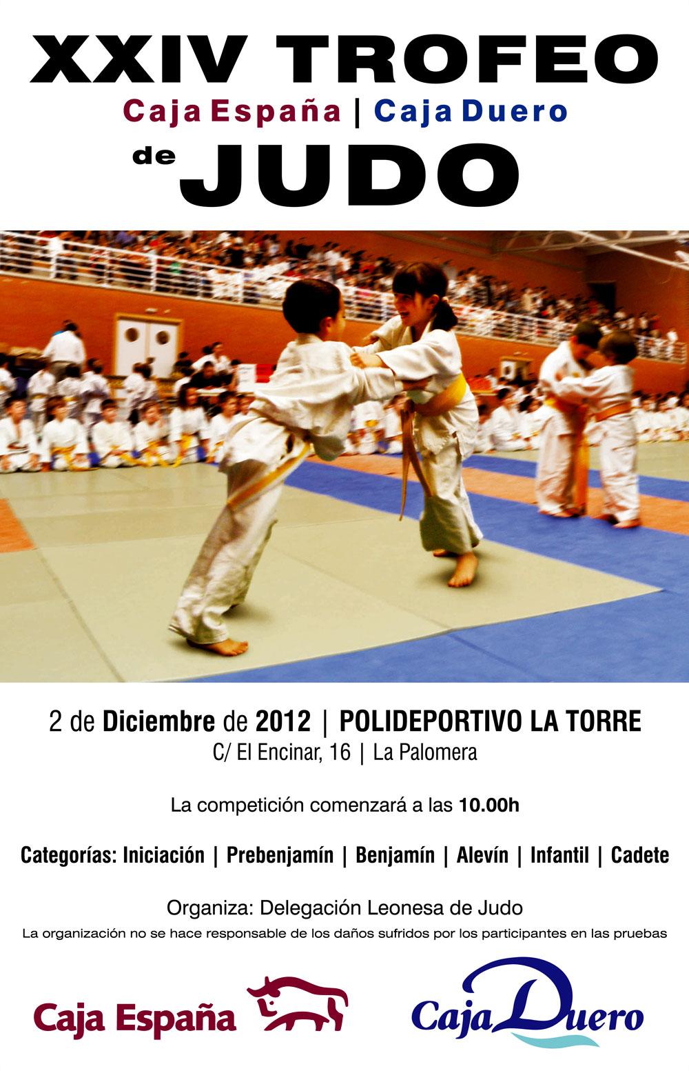 Club kyoto xxiv trofeo de judo caja espa a caja duero for Caja duero madrid oficinas
