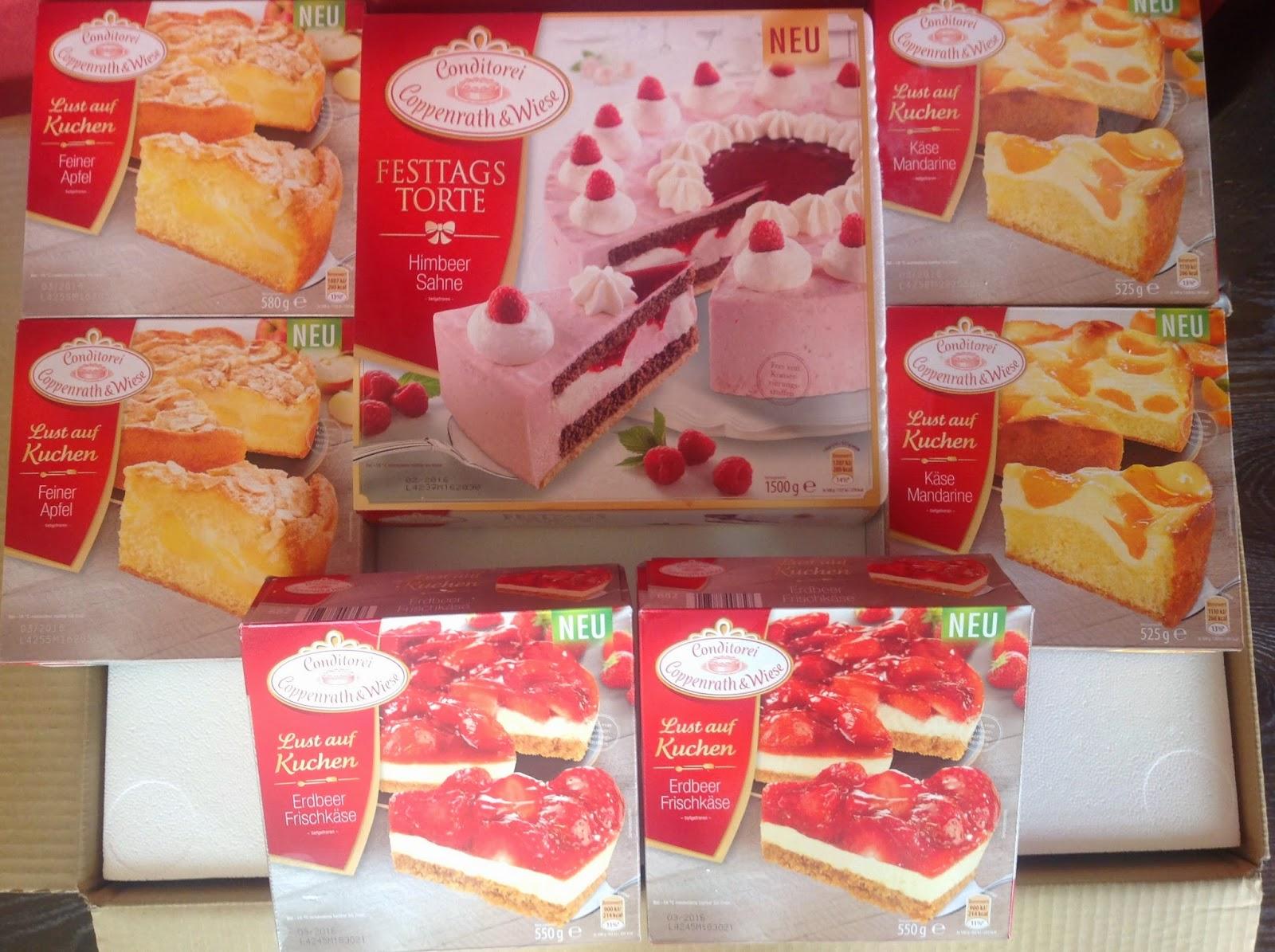 Lust Auf Kuchen Tortenpaket Von Coppenrath Wiese Filine Bloggt